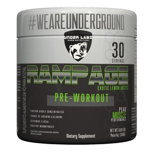 Rampage Pré-Workout 300g - Under Labz