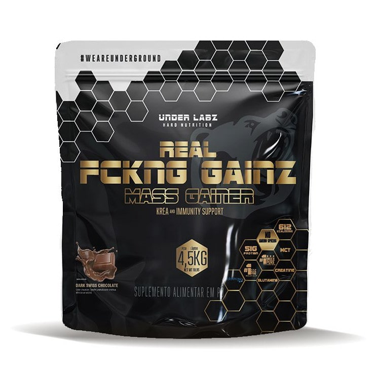 Real FCKNG Gainz Mass Gainner 4,5 Kg