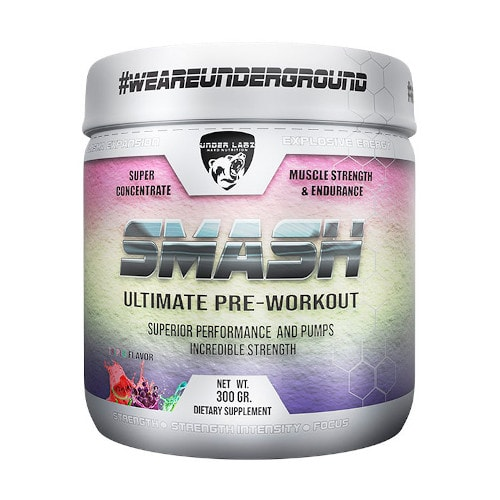 Smash Ultimate Pre Workout 300g - Under Labz