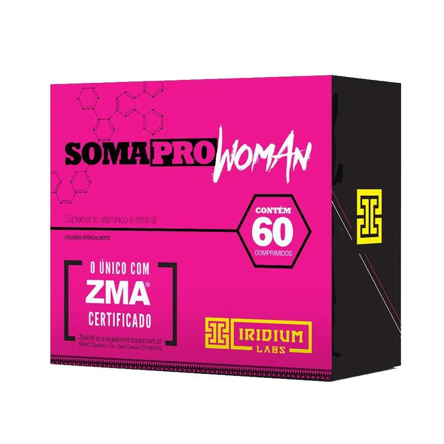 Soma PRO ZMA Woman 60 Caps. - Iridium Labs