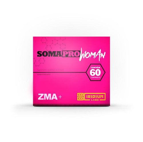 Soma PRO ZMA Woman 60 Caps. - Iridium Labs