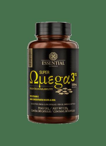 Super Ômega 3 TG 500mg 240 Caps. - Essential Nutrition
