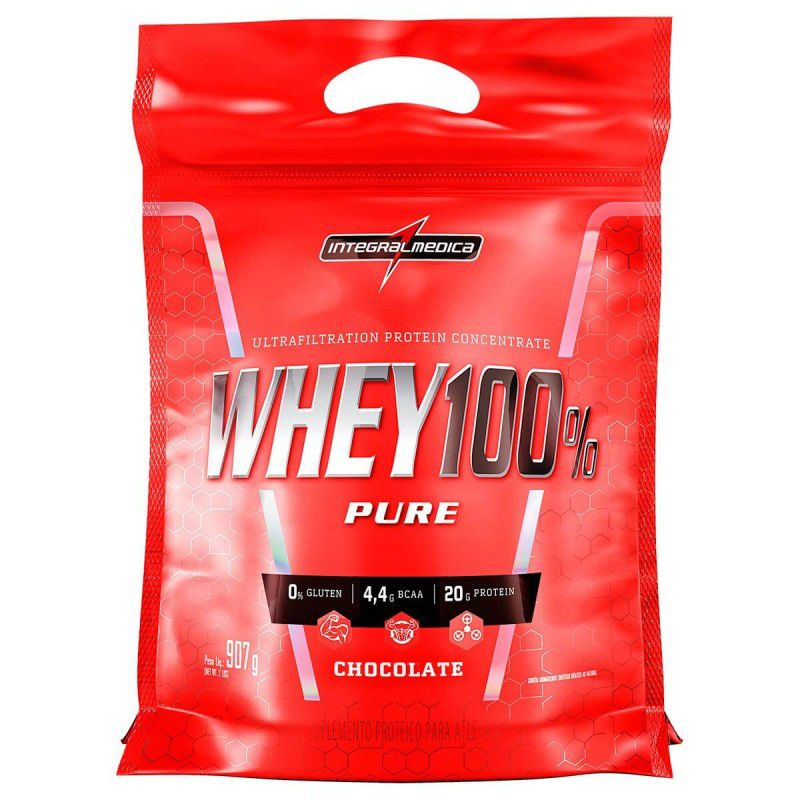Super Whey 100% Pure Refil 907g - Integralmedica
