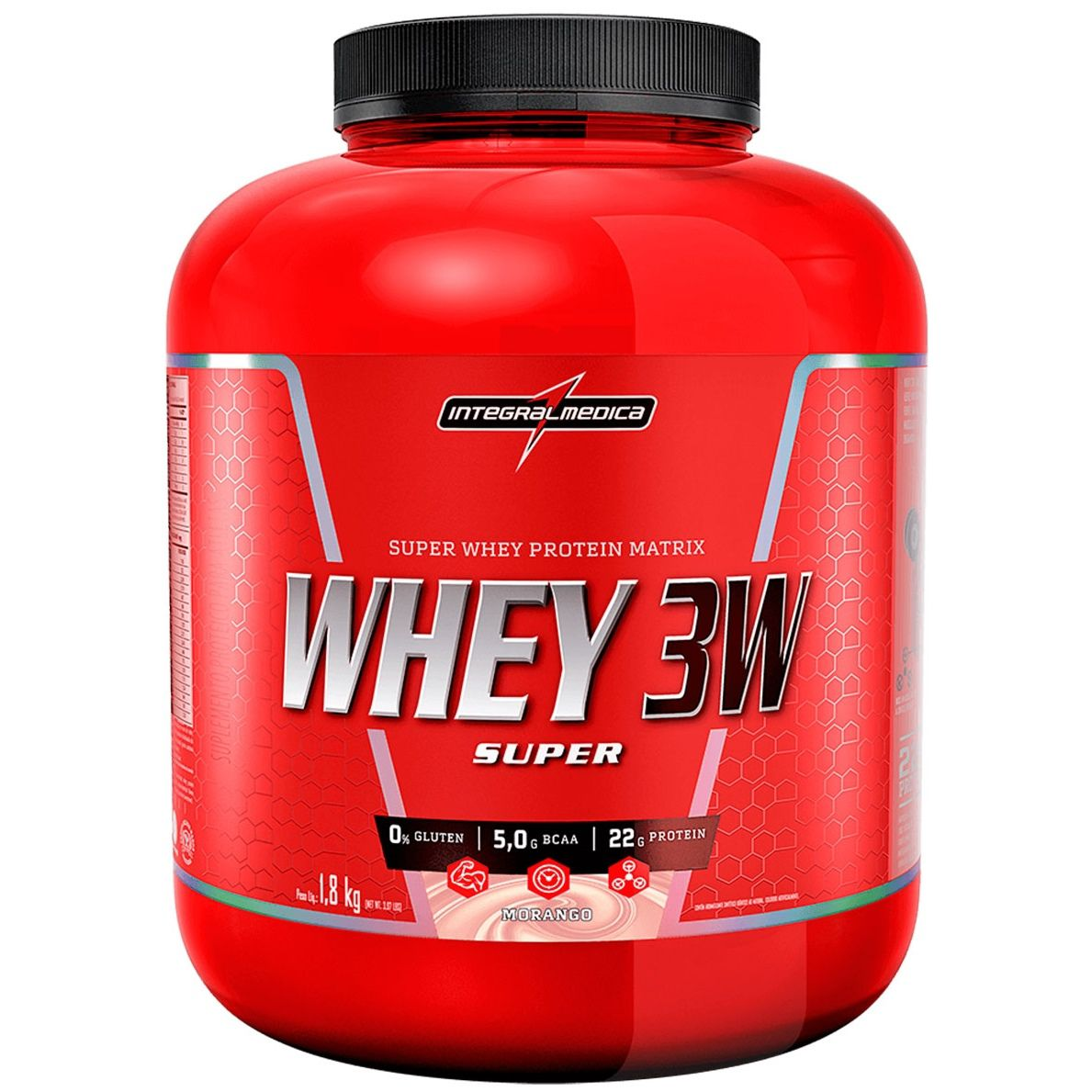Super Whey 3W 1,8Kg - IntegralMedica