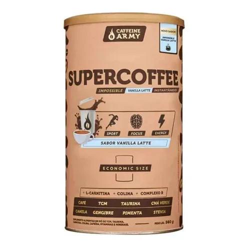SuperCoffee Vanilla Latte Economic Size 380g - Caffeine Army