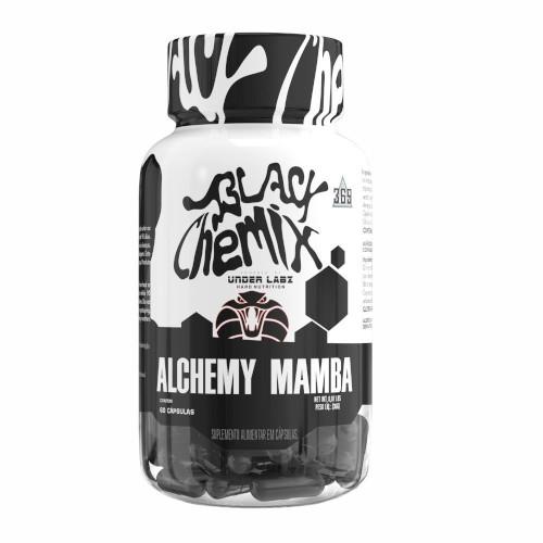 Termogênico Alchemy Mamba 60 Caps - Under Labz