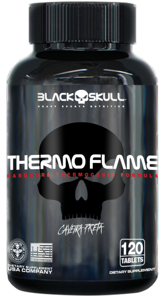 Thermo Flame 120 Tabs. - Black Skull