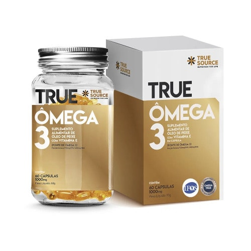 True Omega 3 1000MG 60 Caps - True Source