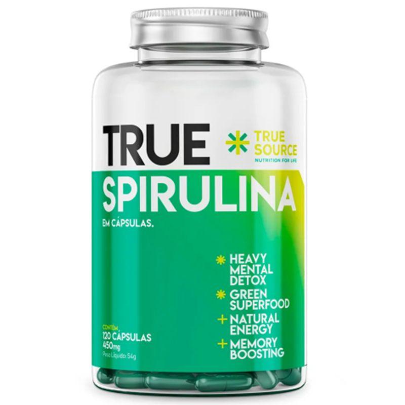 True Spirulina 450mg 120 Caps. - True Source