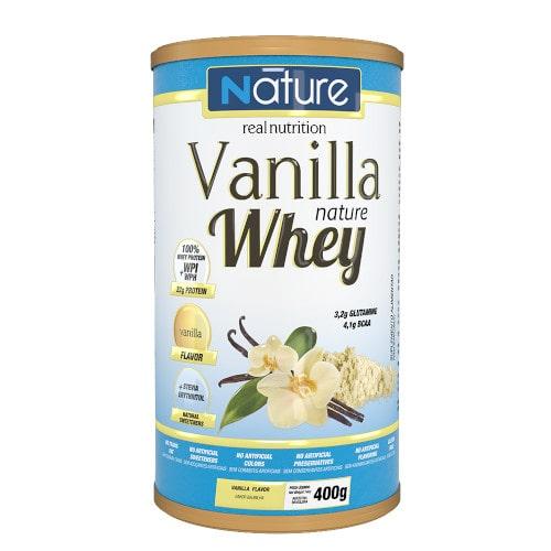 Vanilla Nature Whey 400g - Nature Real Nutrition