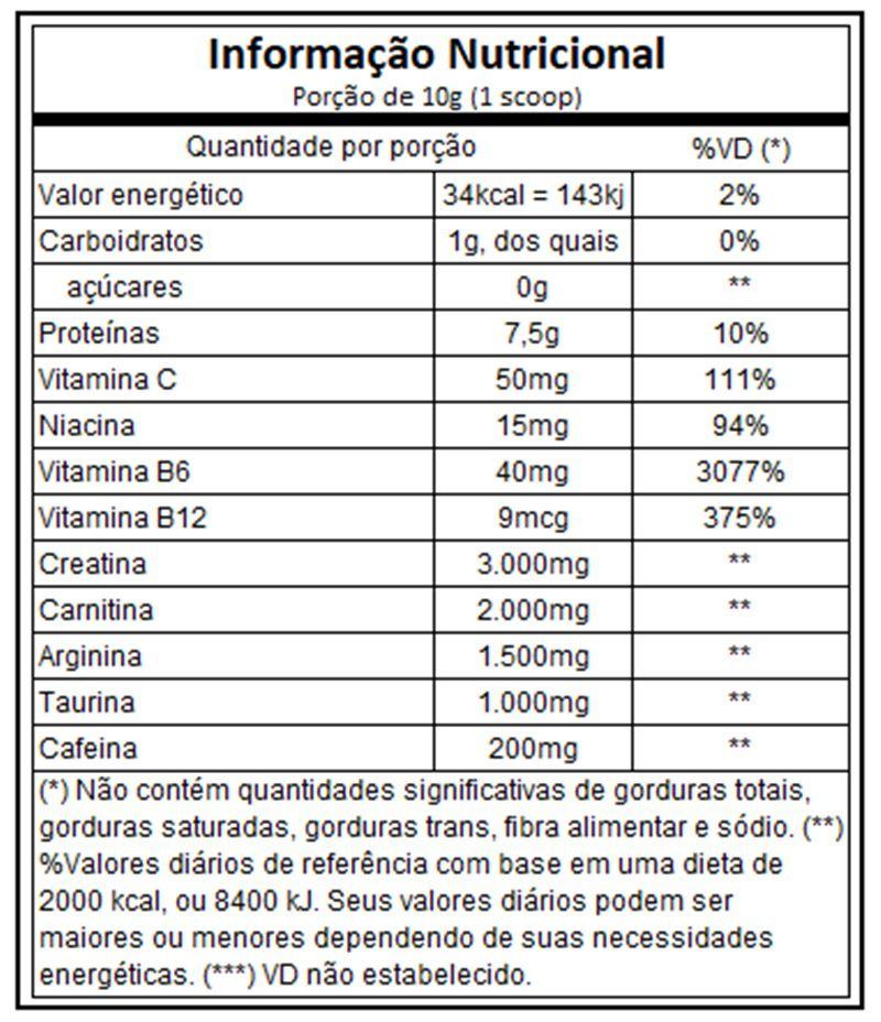 Vapor X5 30 Doses - Muscletech