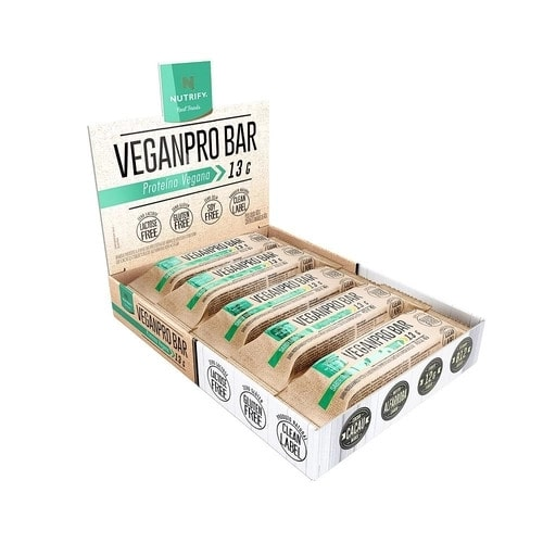 VeganPro Bar 10 Un. - Nutrify