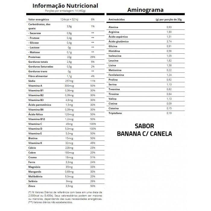 Veggie Protein Banana c/ Canela 462g - Essential Nutrition