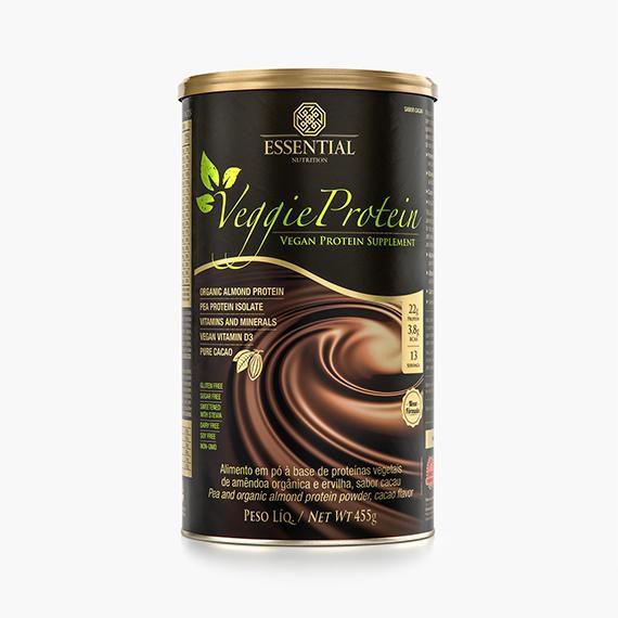 Veggie Protein Cacao 455g - Essential Nutriton