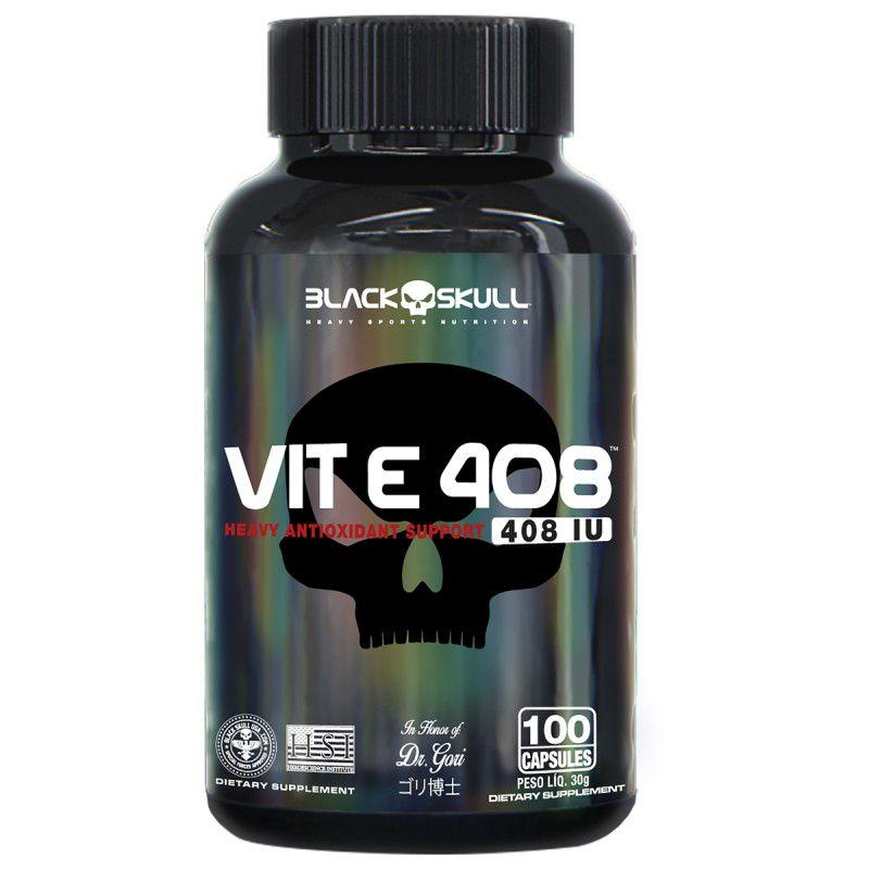 VIT E 408 100 Caps. - Black Skull