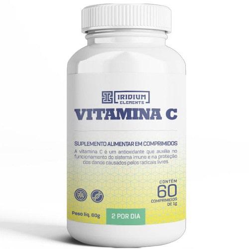 Vitamina C 1000mg 60 Tabs - Iridium Elementes