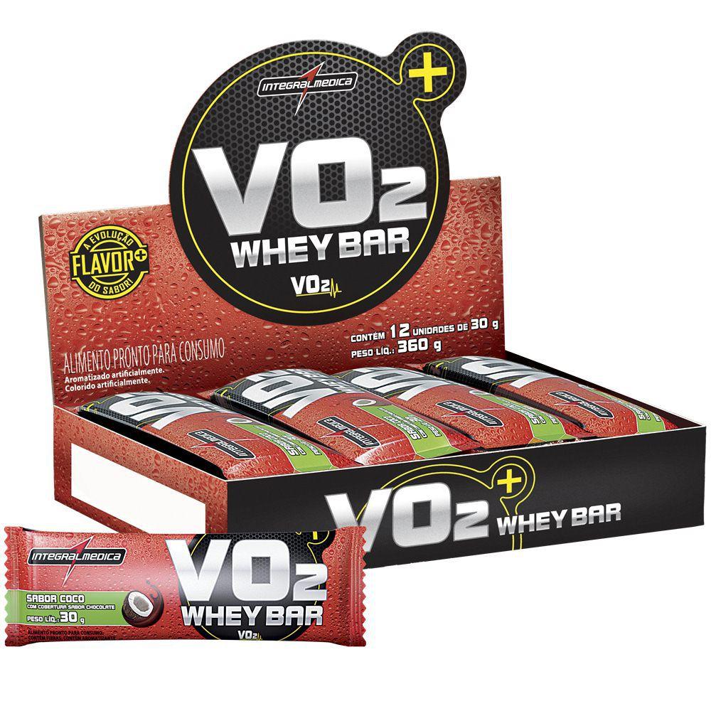 VO2 Whey Bar 12 Uni. - IntegralMedica