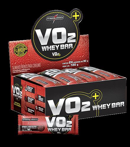 VO2 Whey Bar Caixa12 Uni. - IntegralMedica