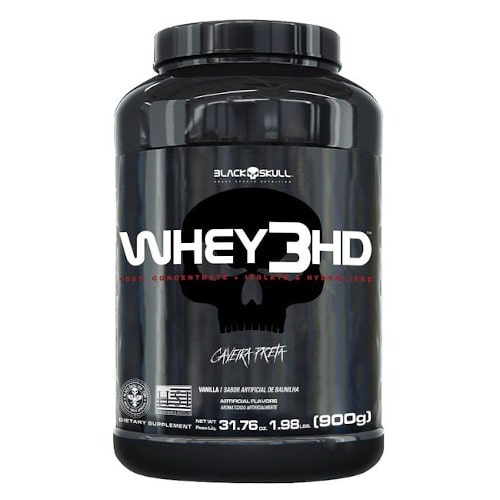 Whey 3HD 900g - Black Skull