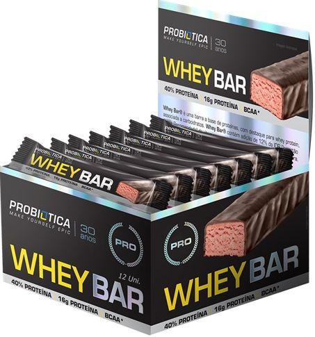 Whey Bar 12 Uni. - Probiotica
