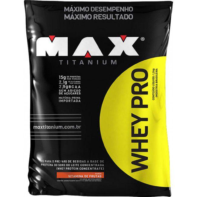 Whey Pro 1,5kg - Max Titanium