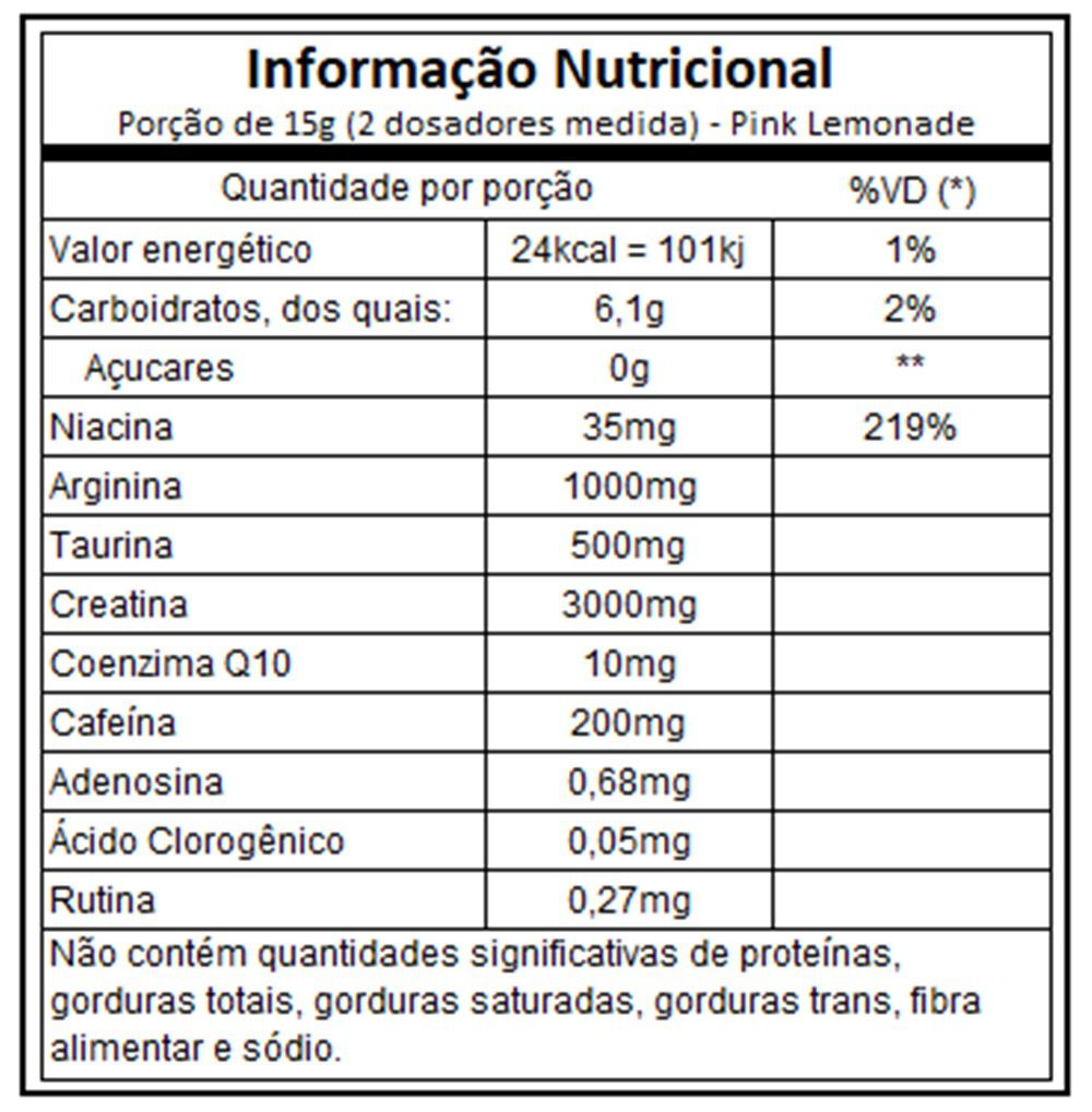 X Pre Workout 450g - Atlhetica Nutrition