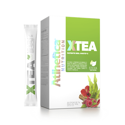 X-TEA 20 Sticks - Atlhetica Nutrition
