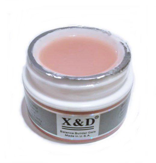 06 Gel Nude 17 Led Uv X&D 15gr Para Unhas Gel e Acrigel X & D