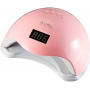 Cabine Sun 5 Led E Uv 48w Digital Bivolt Unhas Gel Rosa