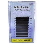Cílios Nagaraku Fio A Fio Y Mix (8-14mm) 0.07 Curvatura C