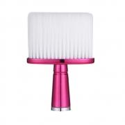 Espanador Pincel Para Barbeiro Cabeleireiro Profissional J060 Rosa