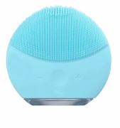 Esponja Elétrica Massagem Limpeza Facial Escova Recarregável Azul