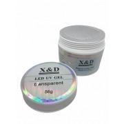 Gel Clear X&D 56gr Para Unhas Gel e Acrigel X & D