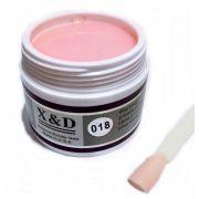 Gel Pink 018 X&D 56gr Para Unhas Gel e Acrigel X & D