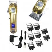 Máquina De Cortar Cabelo E Barba Hairstar 110v/220v KM 211