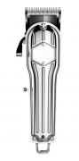 Máquina De Cortar Cabelo Hairstar Profissional Inoxidável Led KM 210