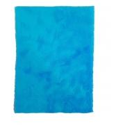 Tapete Pelúcia Fotos Para Unhas Manicure Alongamento Azul
