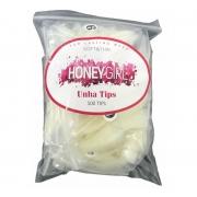 Tips Unha De Gato Curva Honey Girl Stiletto Com 500 Natural