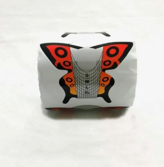 300 Moldes Adesivos Mariposa Para Unha De Porcelana E Gel