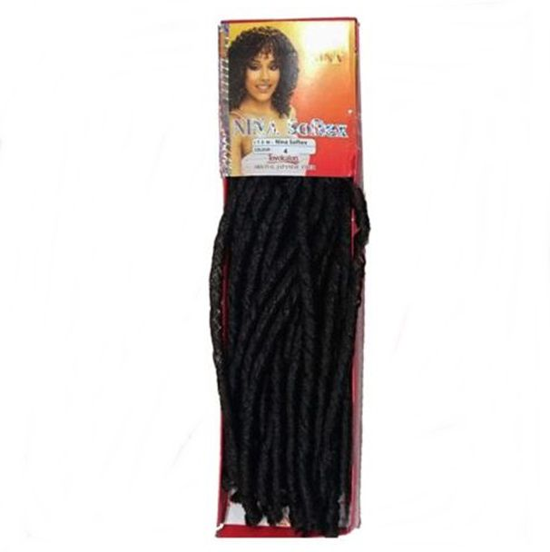 Cabelo Sintético Cacheado Nina Softex 85 Cm 100 Gr Crochet Cor 4