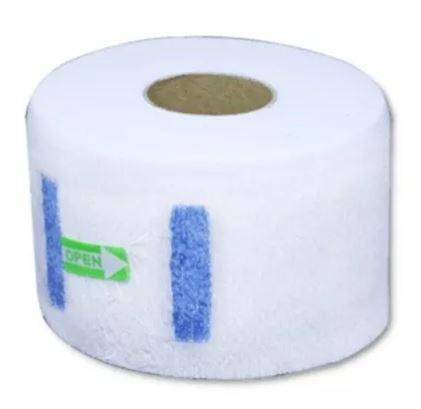 Caixa Fechada Gola Higiênica Branca Com 20 Pacotes 100 Rolos