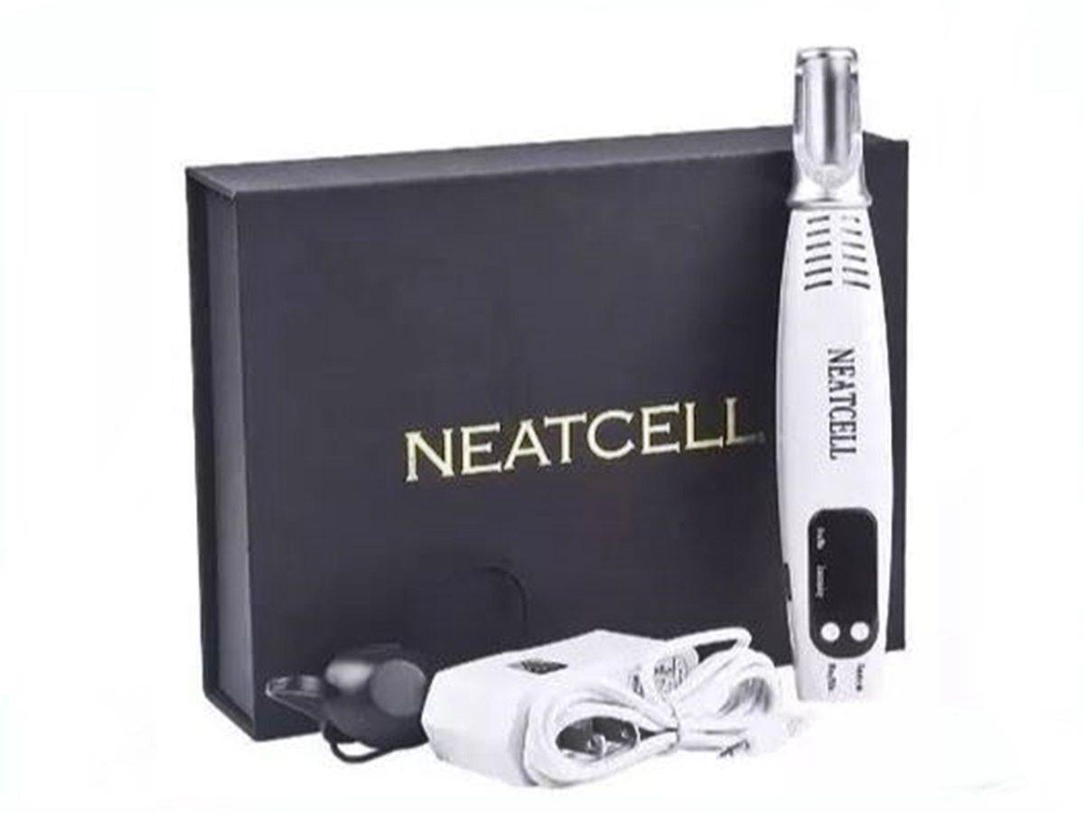 Caneta Neatcell Laser Azul Removedora Manchas Sardas Micropigmentação