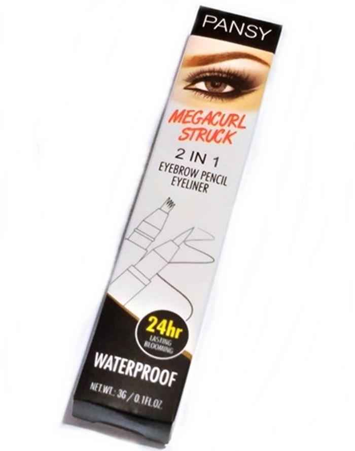Caneta Para Sobrancelha Fio A Fio Preto 01 Tebori Microblanding Henna