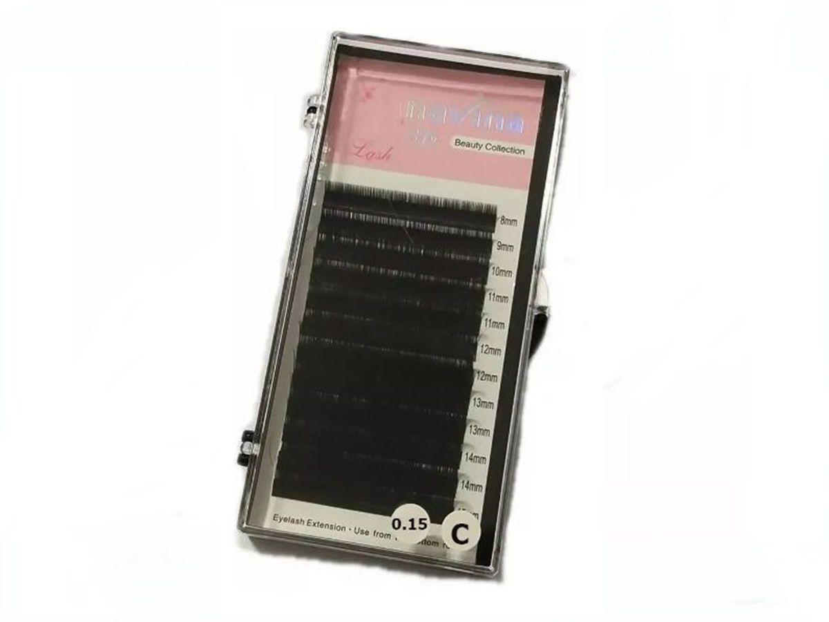 Cílios Navina 3d Mix C 8-15mm Fio A Fio 0.15C