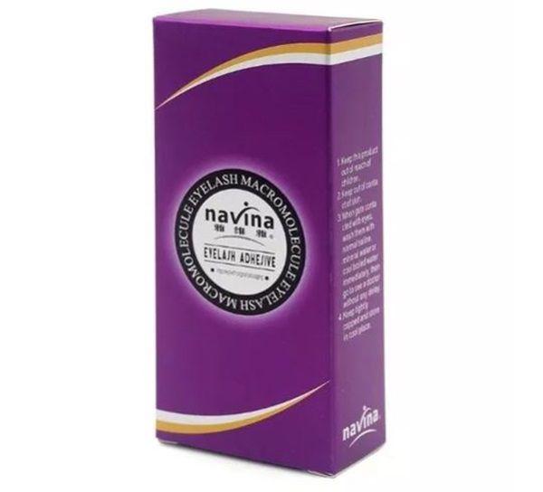 Cola Antialérgica Alongamento Cílios Postiços Navina Roxa