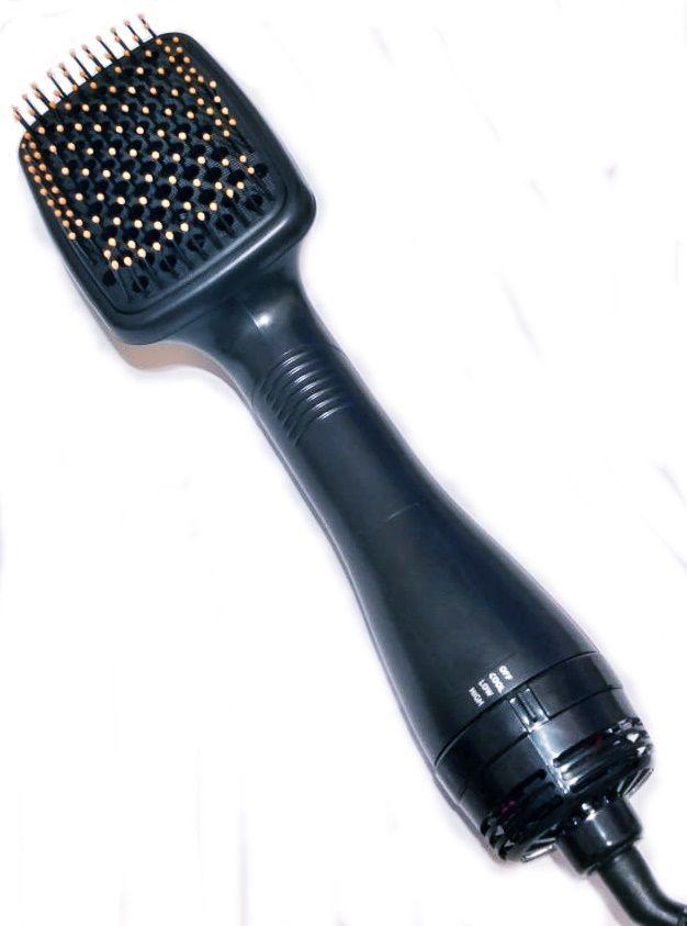 Escova Secadora Alisadora Almofadada Hair Dryer 110v Com Cabo Giratório 360º