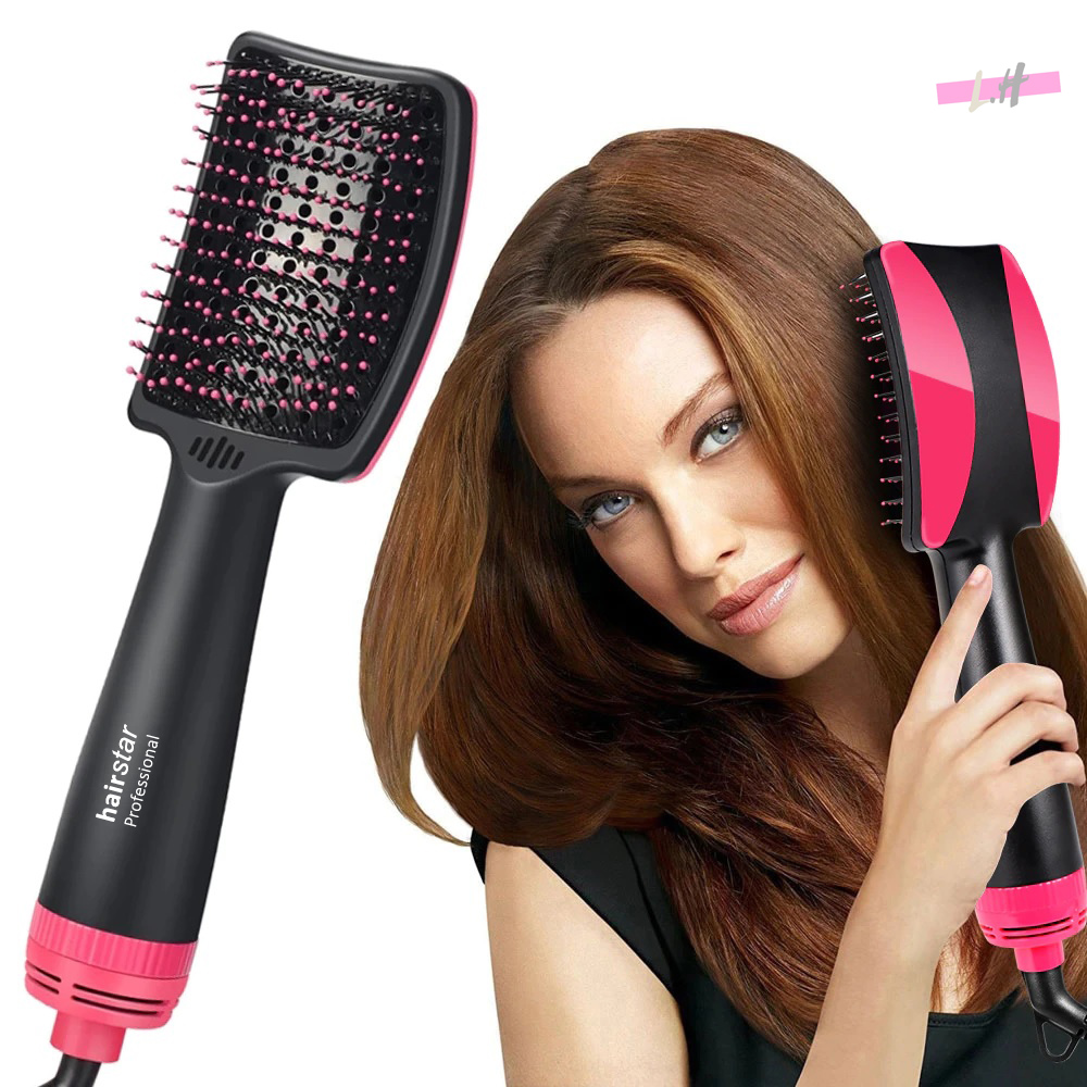 Escova Secadora Hairstar 3x1 Seca Alisadora Elétrica Ccs 110v