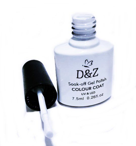 Esmalte Em Gel D&Z Led Uv Branco Unha Gel D & Z 7.5ml