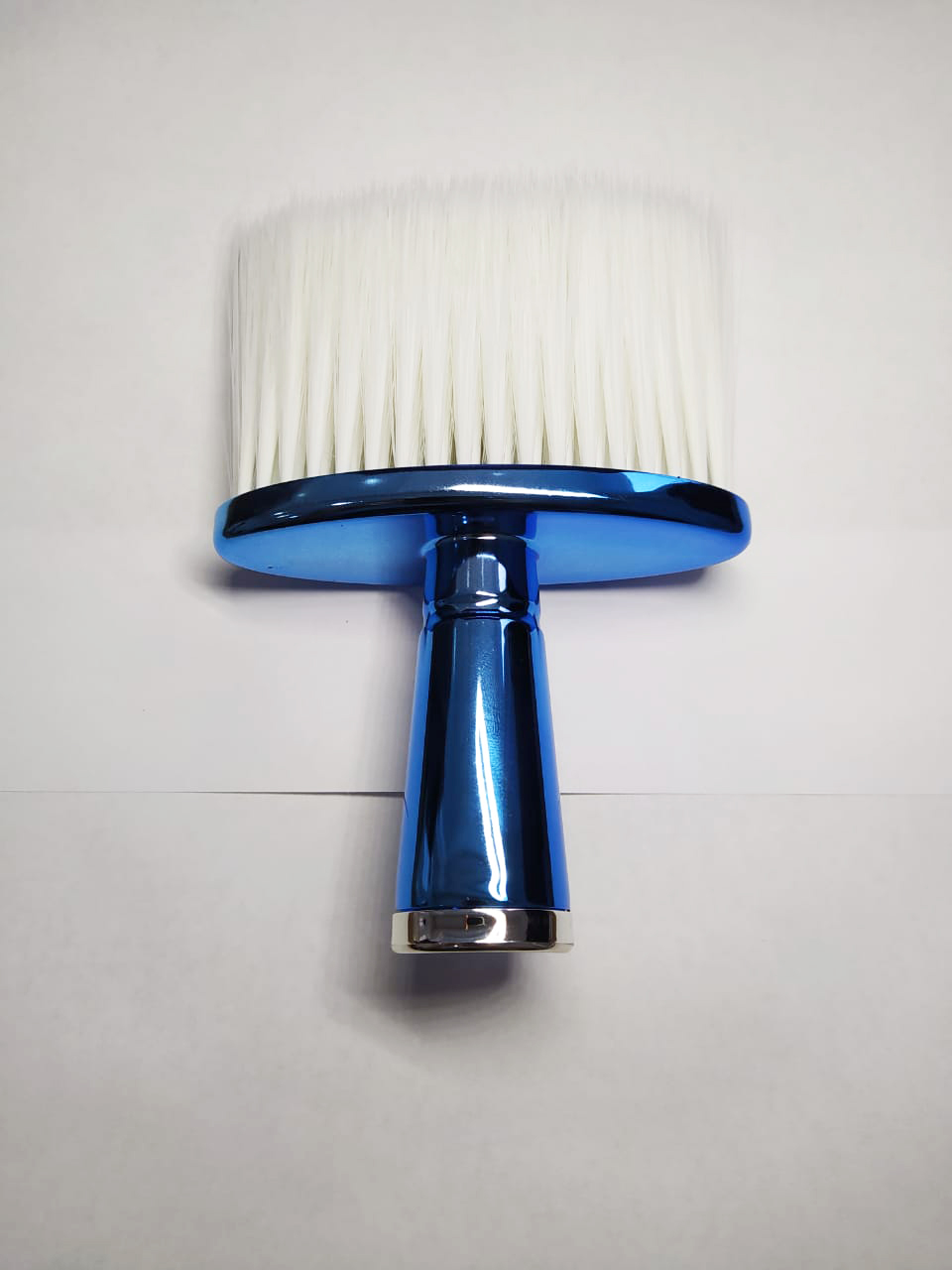Espanador Pincel Para Barbeiro Cabeleireiro Profissional J060 Azul