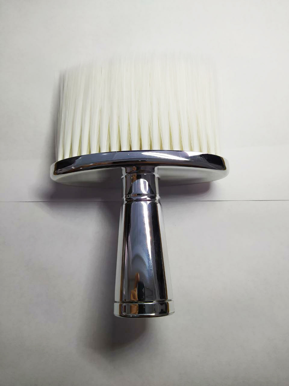 Espanador Pincel Para Barbeiro Cabeleireiro Profissional J060 Inox